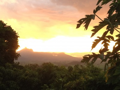 Sunset Mt Warning 2016